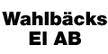 Wahlbäcks El Ab
