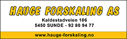 Hauge forskaling AS